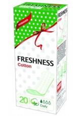 Гигиенические прокладки ежедневные Cotton Soft 20 шт 0717