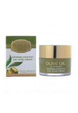 Дневной крем мгновенный комфорт для нормальной и склонной к сухости кожи Olive Oil of Greece