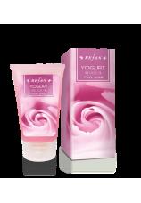 Скраб для лица «Йогурт и масло розы»