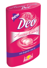 Леденцы с розовым маслом DEO туба