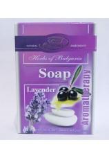 Косметическое мыло Ароматерапия с натуральной лавандовой водой и ароматными маслами