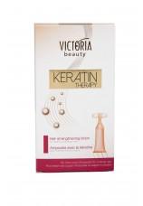 Ампулы Keratin Therapy для сильных, здоровых волос Victoria beauty