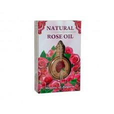 Болгарское натуральное розовое масло 0,5 мл