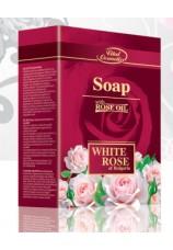 Косметическое мыло Белая Роза с розовым маслом