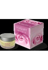Дневной крем для лица «Йогурт и розовое масло»
