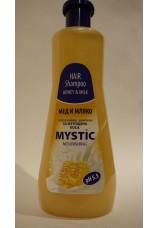 Питательный шампунь Мед и Молоко MISTIC 1000 мл