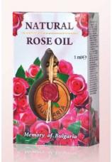 Болгарское натуральное розовое масло 1 мл