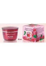 РЕГЕНЕРИРУЮЩИЙ НОЧНОЙ КРЕМ с натуральным маслом и розовой водой
