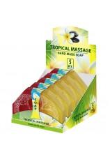 Натуральное мыло ручной работы Тропический массаж NEW